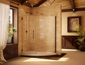 Custom Glass Shower Doors and Enclosures Saint Augustine Florida